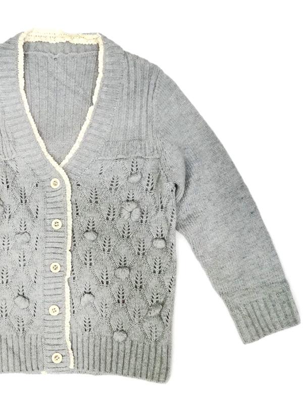 Пуловер на пуговицах